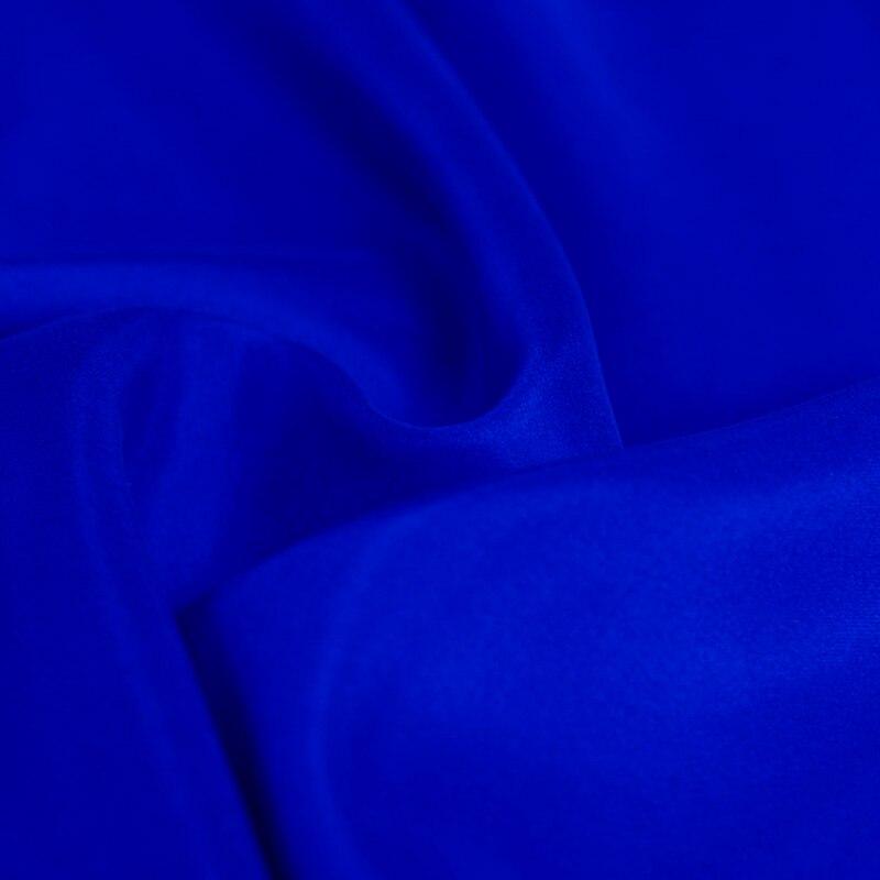 100/% fine silk habotai fabric 114cm45 8mm Fashion silk fabric for clothing dark royal blue shirts by the yard