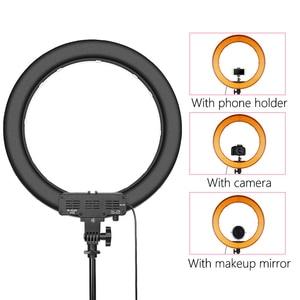 Image 4 - capsaver RL 18 LED Ring Light 18 inch Makeup Lamp with Tripod Mirror High CRI LED 5500K Camera Photo Youtuber Studio Video Lamp