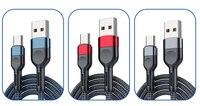 Cavo 1M tipo C cavo di ricarica rapida 3A Micro Usb cavo di ricarica rapida per iPhone cavo dati caricabatterie per telefono cellulare Samsung Huawei Sony
