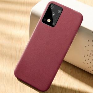 Image 5 - Роскошный Матовый Мягкий чехол YISHANGOU из песчаника для телефона Samsung Note 10 20 S20 FE Plus Ultra S10e A50 70 M51 A51 A71 81 Note10 Lite