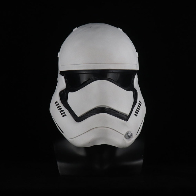 Star Wars Imperial Stormtrooper Mask Cosplay The Rise of Skywalker Latex Helmet Masks Halloween Party Props 3