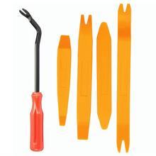 Clipe de porta automática painel guarnição ferramenta remoção kits navegação desmontagem seesaw interior do carro plástico ferramenta conversão