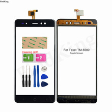 Mobile Touch Screen Front Glass For Texet TM-5580 TM 5580 TM 5588 TM-5588 Touch Screen Touch Panel Digitizer Panel Sensor Tools