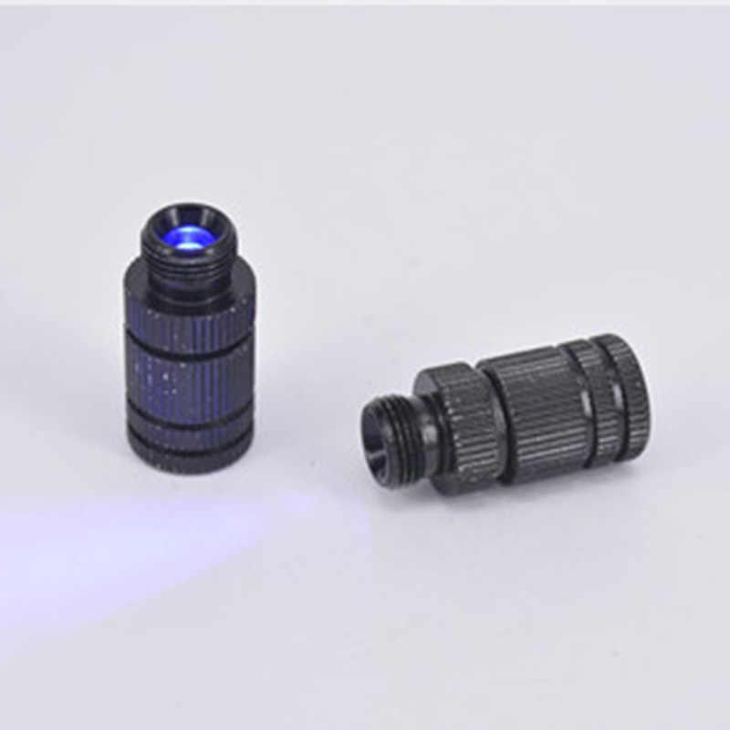 Outdoor Mini Recurve Busur Lampu LED Melihat Hitam Senyawa Busur Busur Sight Panah Lampu Lihat untuk Berburu Memancing dan