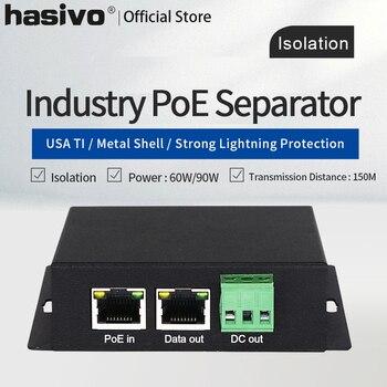 цена Industrial Isolated PoE Gigabit Spliter High Power 90W 12V Output Voltage POE Power Supply Module POE Switch онлайн в 2017 году