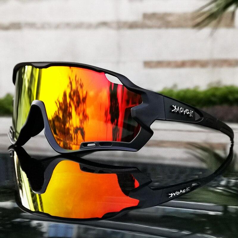 Cycling Sunglasses Men Women MTB Bicycle Bike eyewear goggles Photochromic Glasses Sunglasses UV400 polarized cycling glasses 2