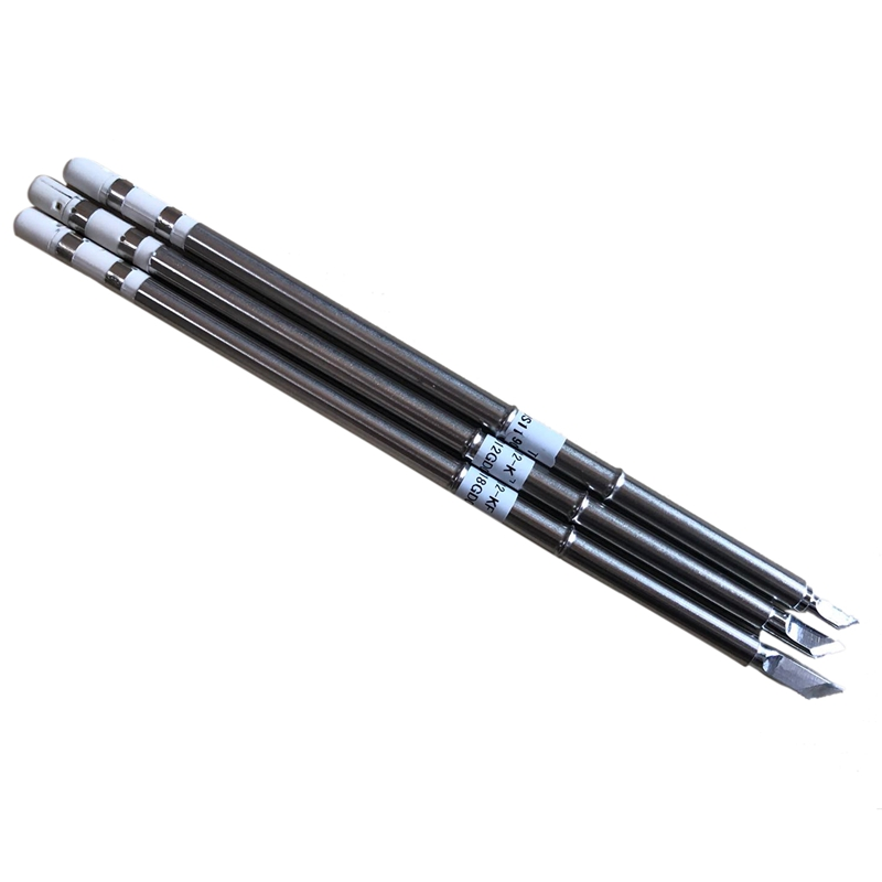 Promotion! 3Pcs T12 Series Iron Tip T12-K KU KF For HAKKO Solder Iron Tips Soldering Welding Stings