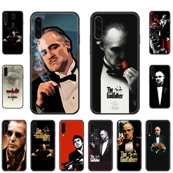 The Godfather Phone case For Samsung Galaxy A 3 5 8 9 10 20 30 40 50 70 E S Plus 2016 2017 2018 2019 black trend cell cover image