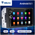Hikity 2din Car Radio Android RAM 2GB Autoradio Multimedia Player for Nissan Hyundai Kia Toyata Chevrolet Ford Suzuki Mitsubishi