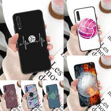 Yinuoda Volleybal Telefoon Case Cover Voor Huawei Mate 30 Pro P20 P30 P40 Pro Lite Y7 Y6 2019 Case Voor honor 8X 8A 10 20Lite 10i(China)
