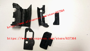 Image 4 - NEW A Set Of Body Rubber 5 pcs Front cover and Back cover Rubber For Nikon D300 D300S Camera Replacement Repair spare parts