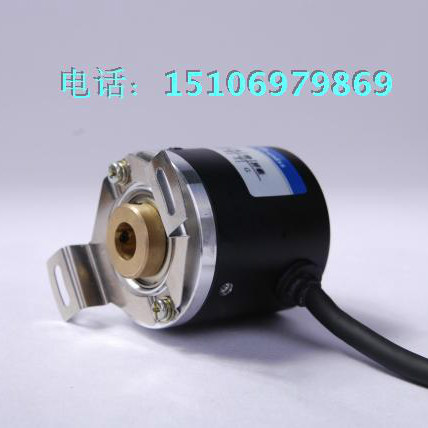 Hollow Shaft Photoelectric Rotary Encoder ZKP3808 2000 Pulse 2000 Line ABZ Three Phase 5-24V