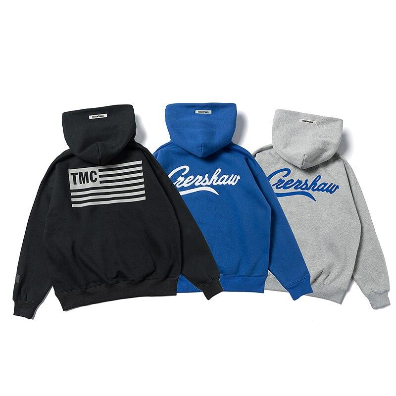 Best Version Fog Essentials L.A Limited Printed Women Men Hoodies Sweatshirt Hiphop Streetwear Men Hoodie Pullover Winter Fleece