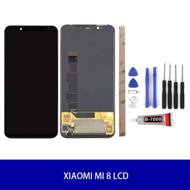 מקורי AMOLED מסך לשיאו mi mi 8/mi 8 פרו/mi 8 SE LCD תצוגת Digitizer עצרת מגע החלפת מסך LCD