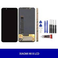 Ban Đầu Màn Hình AMOLED Cho Xiao Mi Mi 8/Mi 8 Pro/Mi 8 SE Màn Hình Hiển Thị LCD Bộ Số Hóa màn Hình Cảm Ứng Màn Hình LCD Thay Thế