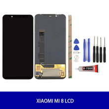 Pantalla AMOLED Original para Xiaomi mi 8/mi 8 PRO/mi 8 SE LCD montaje digitalizador pantalla táctil de reemplazo LCD