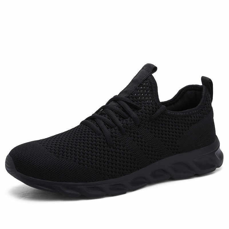 Hot Koop Licht Loopschoenen Comfortabele Casual Mannen Sneaker Ademend Antislip Slijtvaste Outdoor Wandelschoenen Mannen sport Schoenen