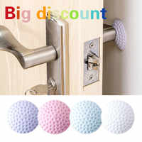 1PCS Wall Thickening Mute Door Fenders Home Wall Anti-Collision Rubber Sticker Silence Door Lock Protection Pad Home Wall Stick