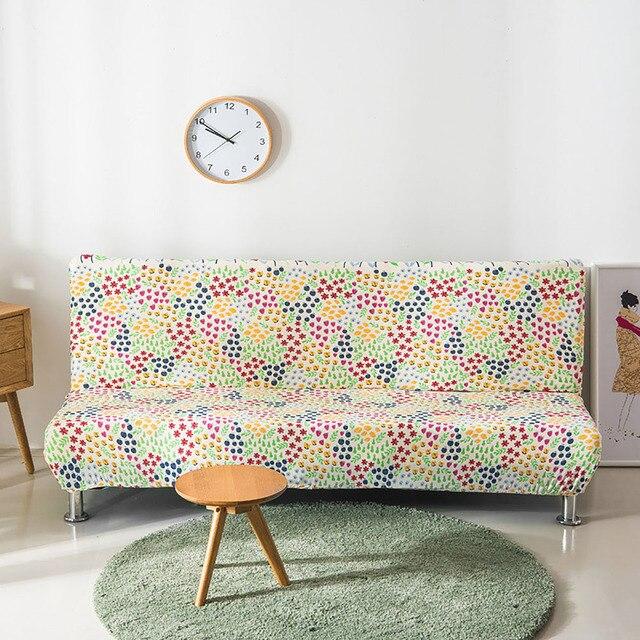 Купить эластичный чехол для дивана гостиной с цветочным принтом много картинки цена