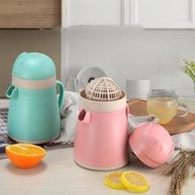 Fortune Pig сдавливаемая оранжевая крышка домашняя ручная многофункциональная чашка для лимонного сока мини портативные креативные ручные соковыжималки