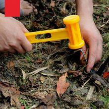 цены на Outdoor Camping Portable Plastic Hammer Camping Tent Nails Installation Tool  в интернет-магазинах