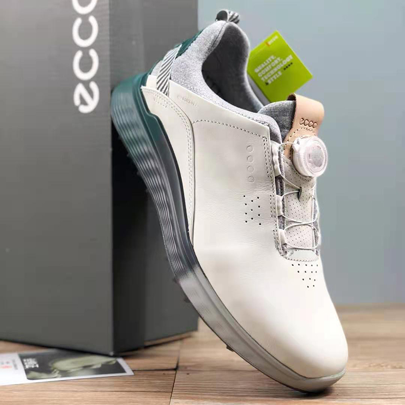 New Professional Golf Sneakers Men Genuine Leather Golf Shoes Size 39-45 Comfortable Walking Shoes Anti Slip Mens Sneakers