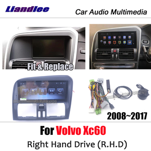 Автомобильный мультимедийный плеер для Volvo XC60, RHD 2008 ~ 2017, android, радио, аксессуары, карта, GPS, навигация Navi