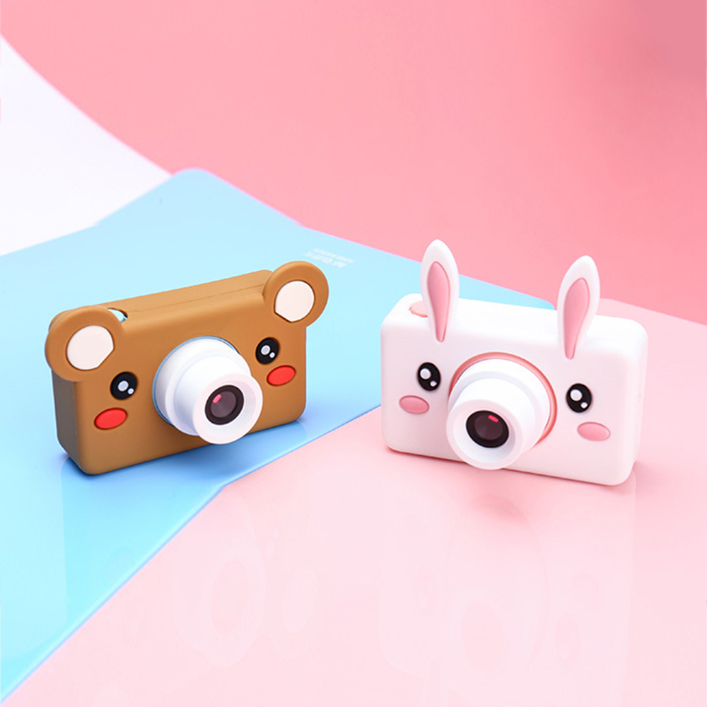 Cute Cartoon Children Mini Camera Kids Educational Toys Baby Gifts HD Digital Camera Multifunction Children Take Photo Camera