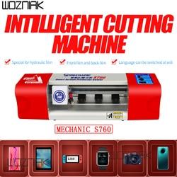 Mecánico S760, máquina de Corte de Precisión inteligente, película de hidrogel IA para reloj de teléfono, iPad, carcasa trasera de vidrio frontal, películas de corte