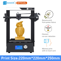 JGMaker Magic 3D Printer FDM i3 Diy Kit Resume Power Off Printing Filament Run out Detection High Precision Impresora 3d