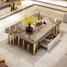 Высококачественный мраморный журнальный столик/чайный столик/диван-столик для гостиной