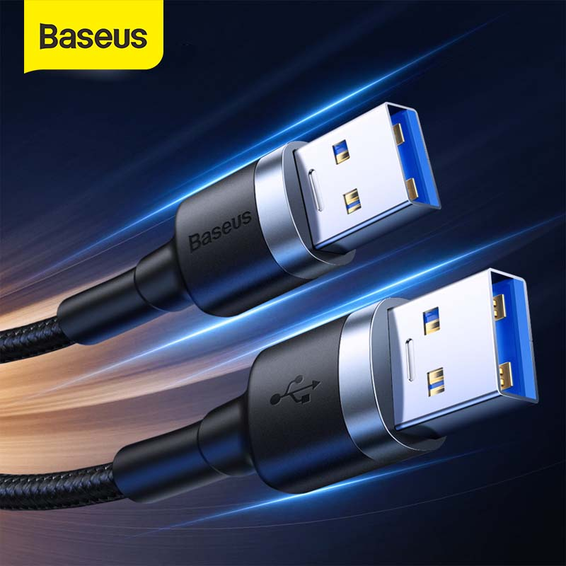 Baseus USB Extension USB3.0 Cable USB OTG Micro Cable for Notebook Computer Samrt TV PS4 Xbox SSD Data Sync Wire Extension Cord image