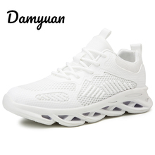 Damyuan 2019 Running Shoes For Men Breathable Zapatillas Hombre Outdoor Sport Sneakers Lightweigh Walking Size 44