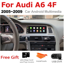 TBBCTEE Car Android For Audi A6 4F 2005 2006 2007 2008 2009 MMI 2G 3G GPS Navigation Radio Android Auto Hi Fi Multimedia player
