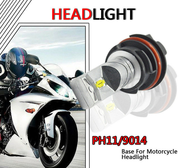 1 шт суперъяркая фара для мотоцикла ph11 csp chips 10 30 в