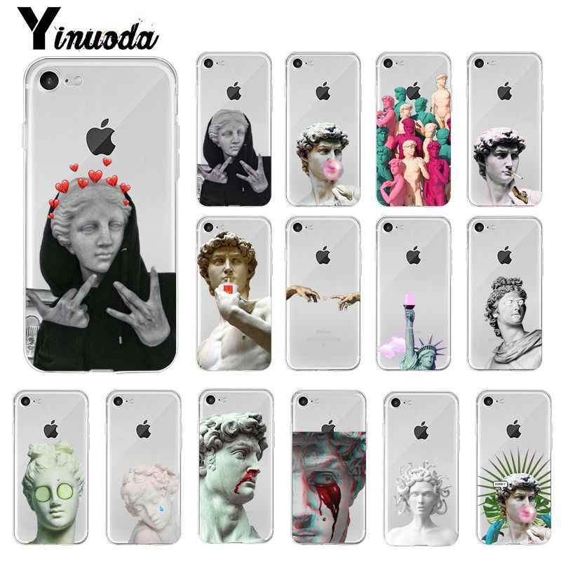 Yinuoda Alternatieve standbeeld David art mode Telefoon Case Cover voor iPhone X XS MAX 6 6s 7 7plus 8 8Plus 5 5S SE XR 10 11 pro max