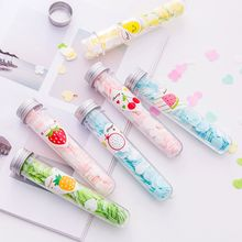 1 Tube Travel Use Soap Flakes Paper Scented Petals Washing Hand Bath Clean Slice Sheets Foaming