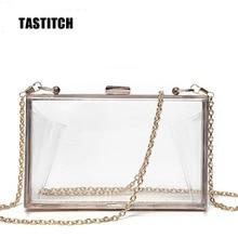 2020 Fashion Acryl Transparante Clutch Bag Lady Schoudertas Hard Dag Clutch Bag Wedding Party Avondjurk Portemonnee