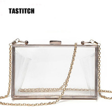 2020 fashion acrylic transparent clutch bag lady shoulder bag hard day clutch bag wedding party evening dress wallet