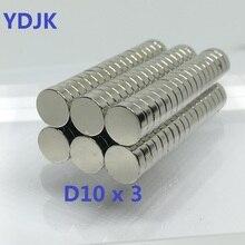 5 10 20 50 100PCS/LOT disk magnet 10*3   disc magnet 10x3  N38 magnet