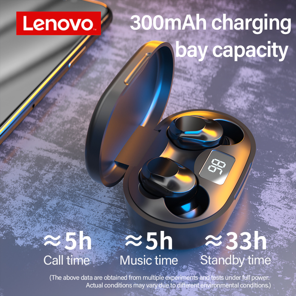 Originele Lenovo XT91 Tws Oortelefoon Draadloze Bluetooth Hoofdtelefoon Ai Controle Gaming Headset Stereo Bass Met Mic Ruisonderdrukking 2
