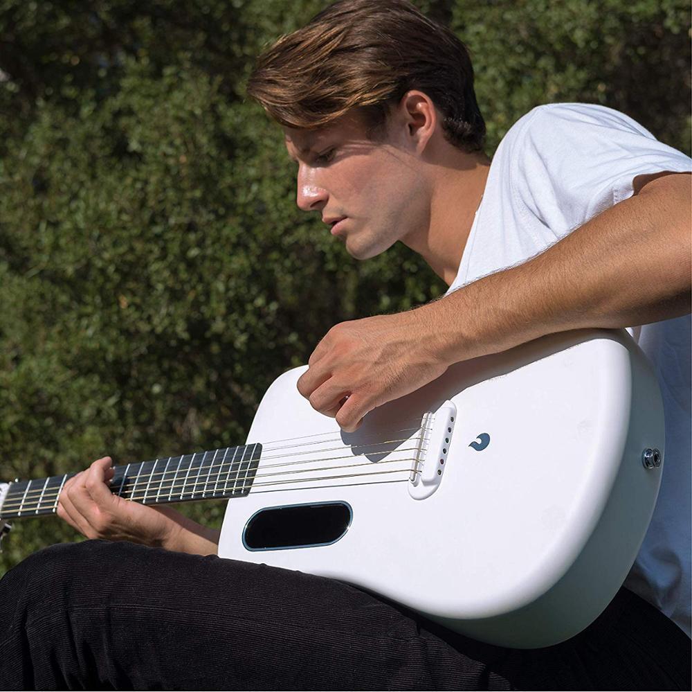 LAVA ME 2 guitare 36 pouces haute qualité en Fiber de carbone Type acoustique livraison gratuite avec étui cadeau gratuit