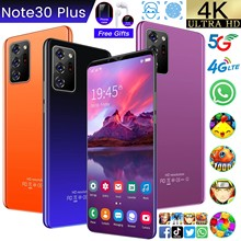Global Version Note30 Plus 6.1 Smartphone Global Unlock HD 8G+256GB Android 10.0 13+24MP Camera 4800mAh Big Battery Cell Phone