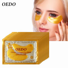 10pcs/lot Eye Care Treatment & Mask Gold Crystal Collagen Sk
