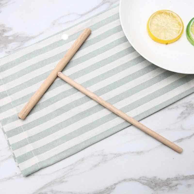 Especialidade chinesa crepe fabricante panqueca massa propagador de madeira vara cozinha em casa ferramenta diy restaurante cantina especialmente suprimentos