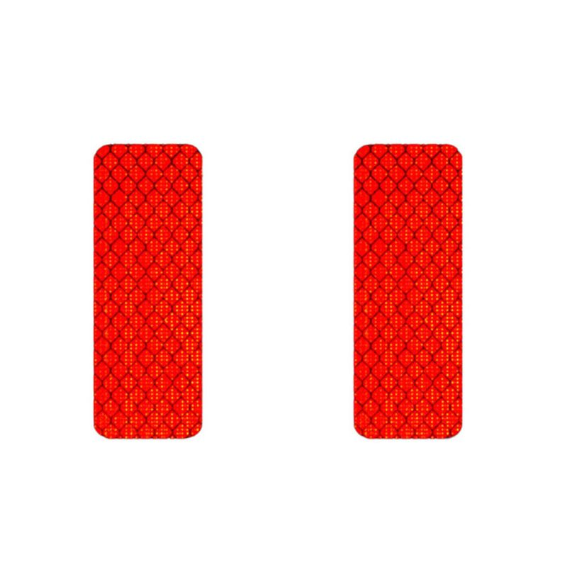 Safety Reflective Warning Strip Tape Car Bumper Reflective Strips Secure Reflector Stickers Decals Car Styling DXAC