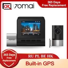 70mai Pro Plus – caméra de tableau de bord A500S, GPS intégré PLUS, carte DVR 1944P, coordonnées GPS, moniteur de stationnement 24H, nouvelle mise à niveau 2021