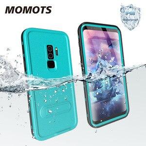 Водонепроницаемый чехол MOMOTS IP68 ДЛЯ Samsung S9 S8 S10 Plus, чехол для плавания и дайвинга для Galaxy Note 9 8, противоударный чехол для спорта на открытом воз...