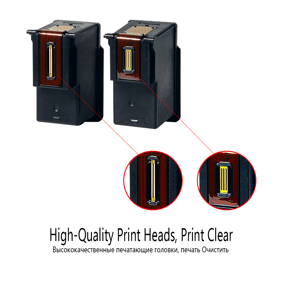 DMYON 445 446 XL Refillable Ink Cartridges MG2540 for Canon PG445 Cl446 Pixma MG2440 MG2940 MG2545S MX494 Printer Ink Cartridge in Ink Cartridges from Computer Office