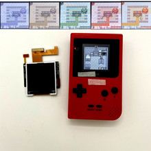 "2.2 ""high light screen GBP LCD for Nintendo Gameboy pocket GBP backlight LCD screen GBP high brightness LCD GBP backlit LCD"